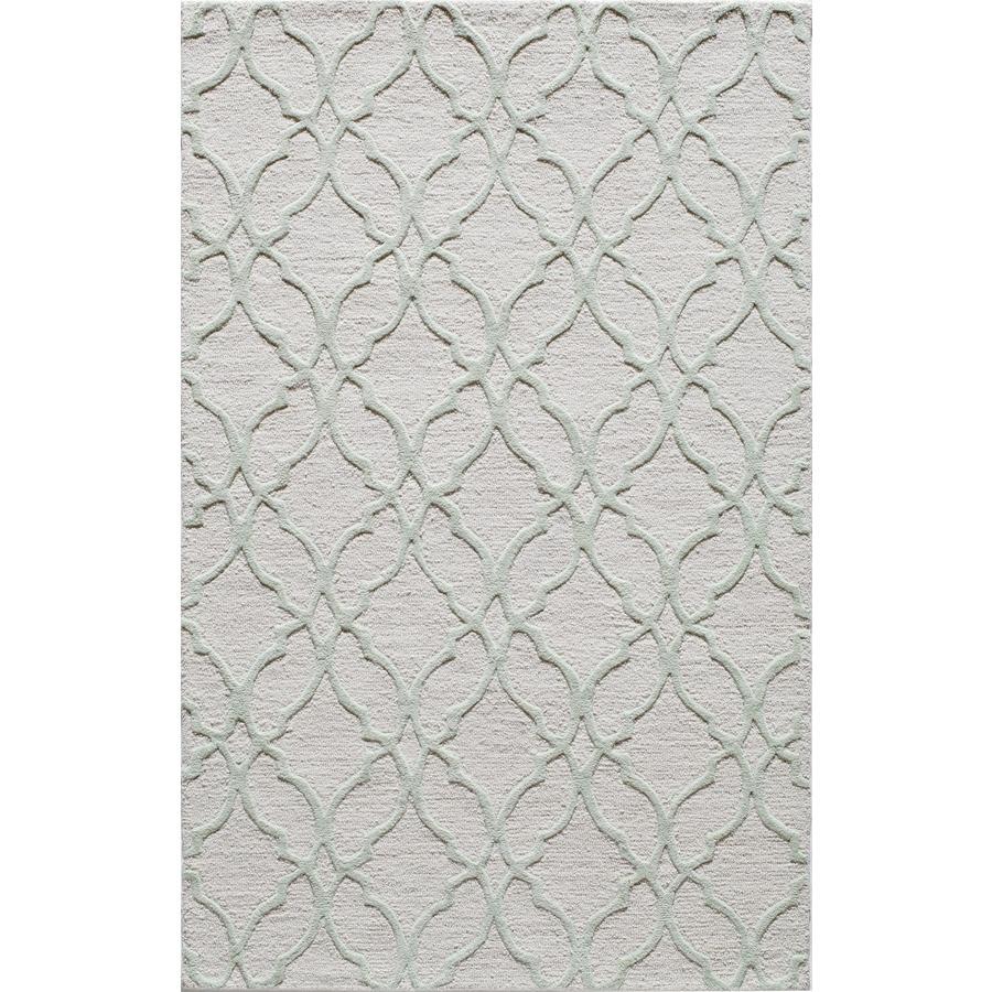 Rugs America Soho Sage Tones Rectangular Indoor Tufted Area Rug (Common: 8 x 10; Actual: 96-in W x 120-in L)