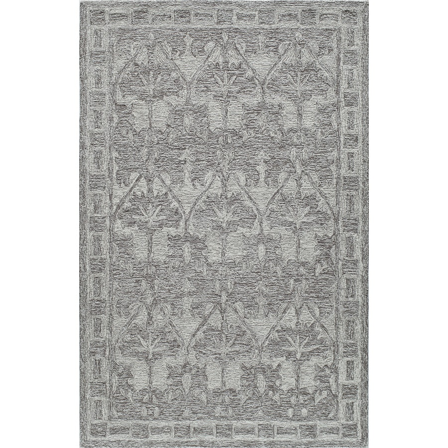Rugs America Cortland Smokey Taupe Rectangular Indoor Tufted Area Rug (Common: 5 x 8; Actual: 60-in W x 96-in L)