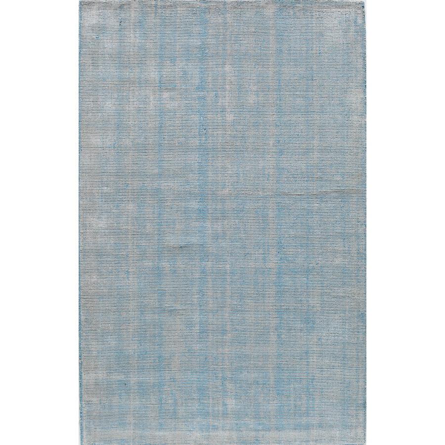 Rugs America Williams Stonewash Turquoise Rectangular Indoor Tufted Area Rug (Common: 5 x 8; Actual: 60-in W x 96-in L)