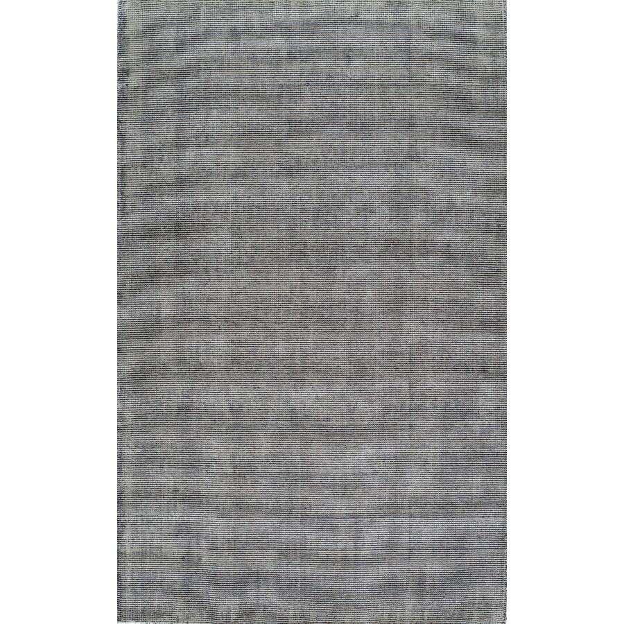 Rugs America Williams Stonewash Graphite Rectangular Indoor Tufted Area Rug (Common: 5 x 8; Actual: 60-in W x 96-in L)