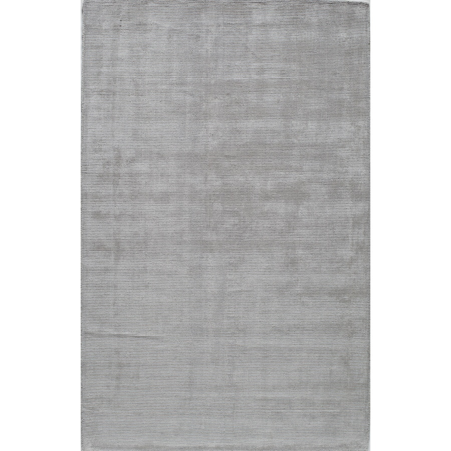 Rugs America Williams Stonewash Silver Rectangular Indoor Tufted Area Rug (Common: 8 x 10; Actual: 96-in W x 120-in L)