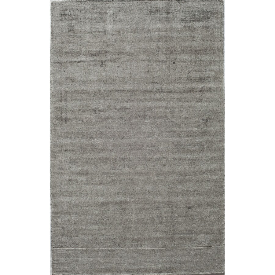 Rugs America Kendall Silky Gray Rectangular Indoor Tufted Area Rug (Common: 5 x 8; Actual: 60-in W x 96-in L)