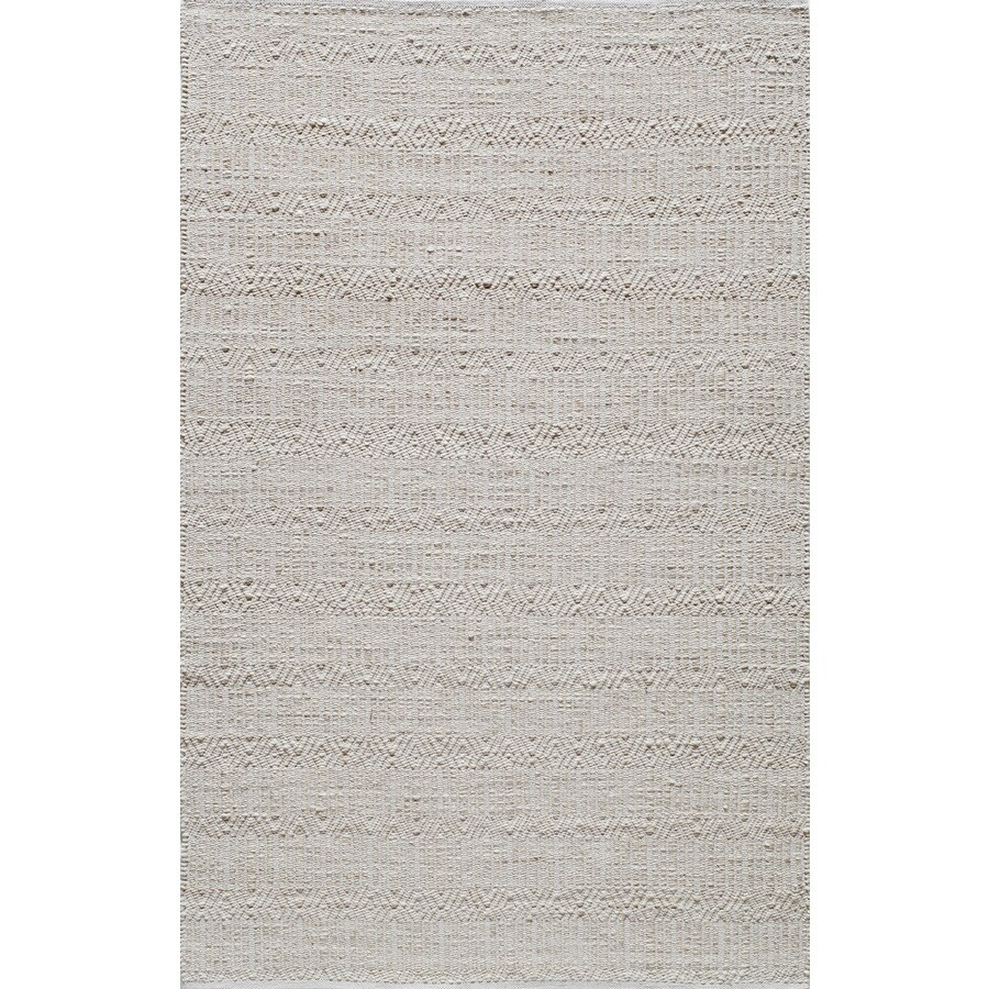 Rugs America Emerson Tan Rectangular Indoor Tufted Area Rug (Common: 8 x 10; Actual: 96-in W x 120-in L)