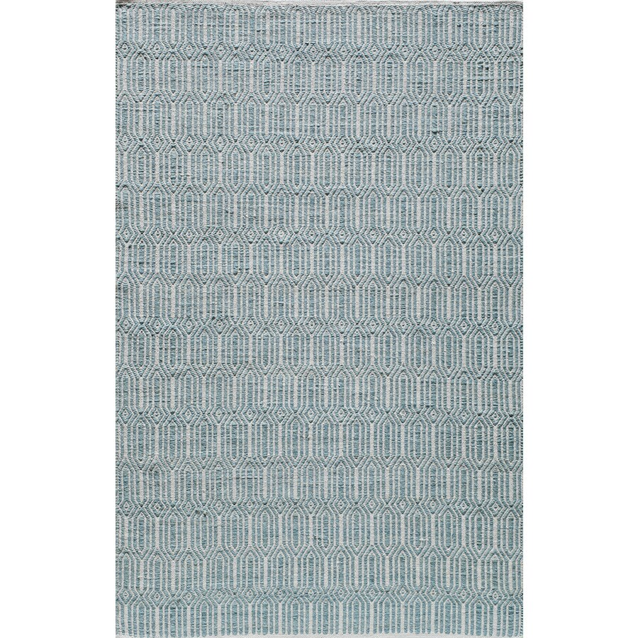Rugs America Emerson Light Blue Rectangular Indoor Tufted Area Rug (Common: 5 x 8; Actual: 60-in W x 96-in L)