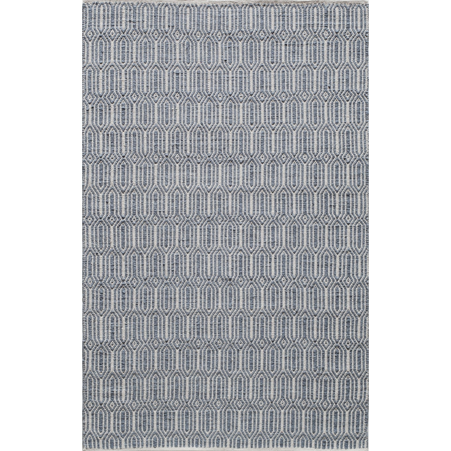 Rugs America Emerson Navy Rectangular Indoor Tufted Area Rug (Common: 8 x 10; Actual: 96-in W x 120-in L)