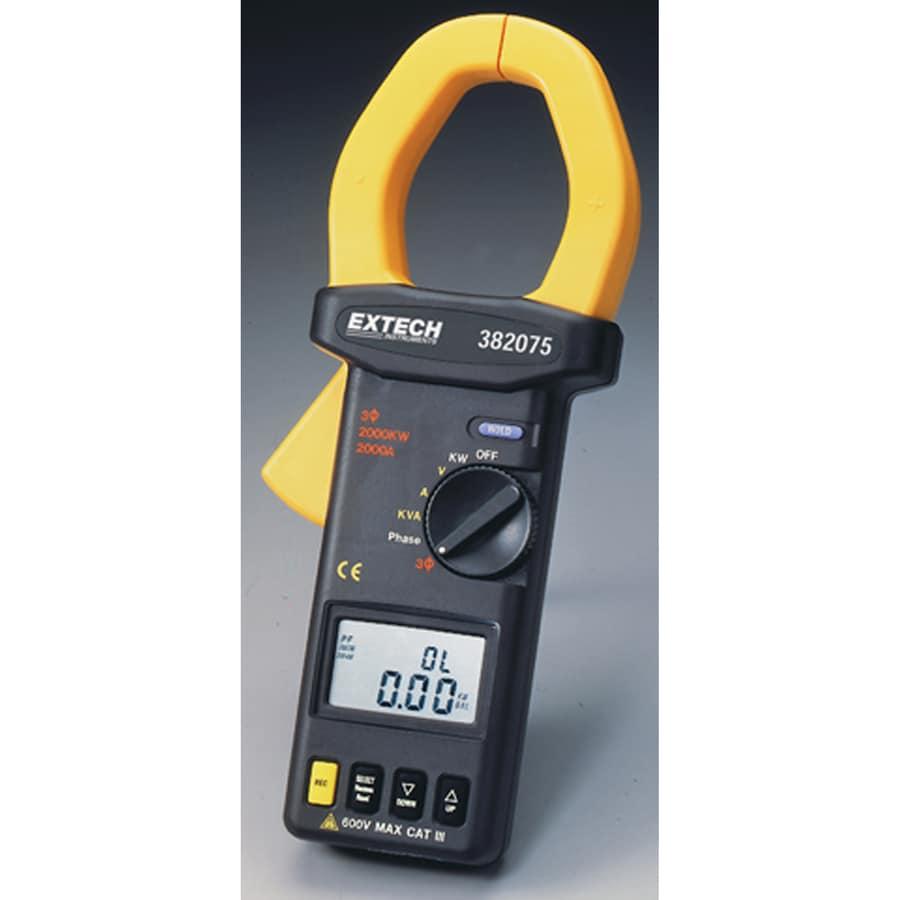Digital Clamp Meter 31320 : Shop extech digital clamp meter at lowes