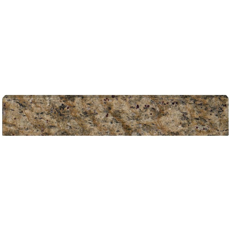 US Marble 4-in H x 21.25-in L Santa Cecilia Bathroom Side Splash