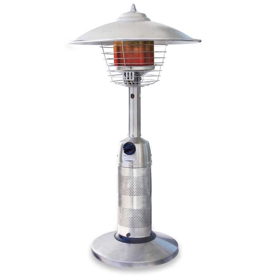 Endless Summer 11,000-BTU Stainless Steel Liquid Propane Patio Heater