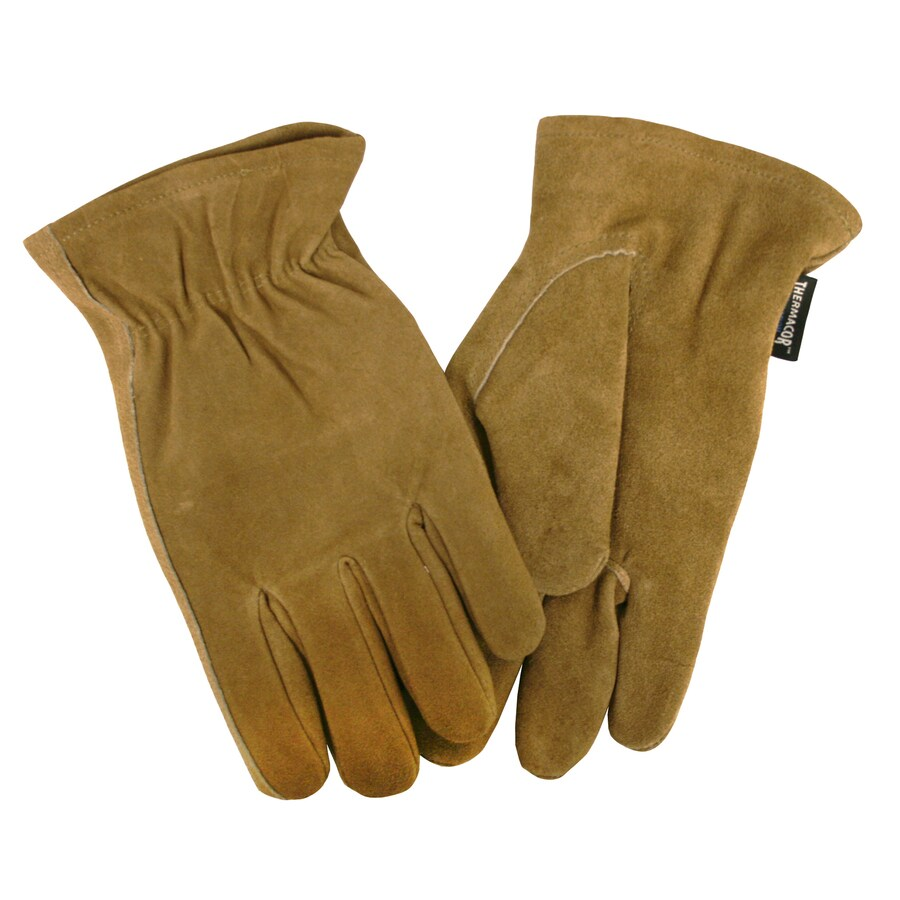 Cordova Consumer Products Large Male Brown/Split Leather Insulated Winter Gloves