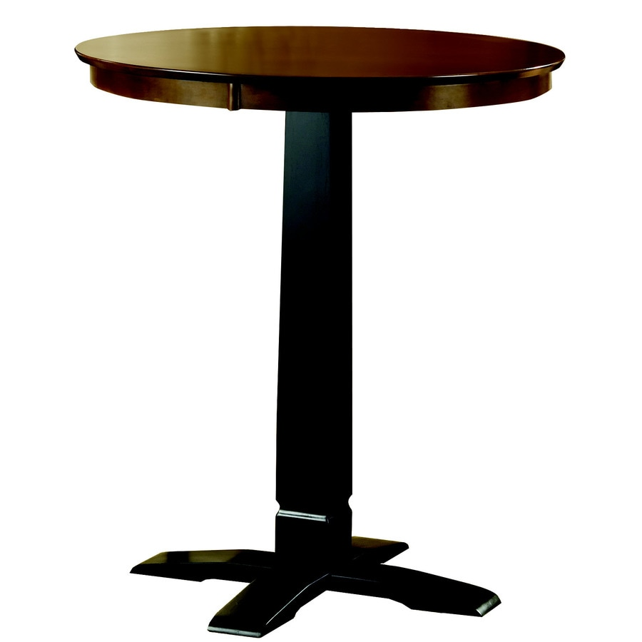 Shop hillsdale furniture dynamic designs black round for Shop dining tables