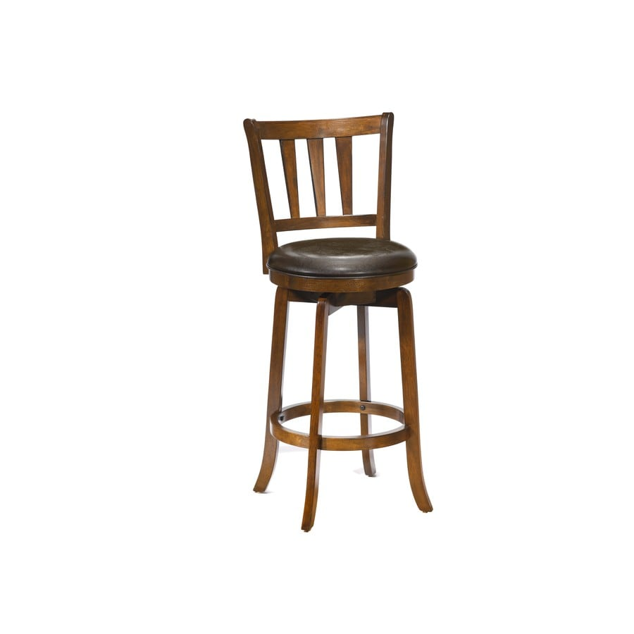 Hillsdale Furniture Presque Isle Cherry 25.5-in Counter Stool