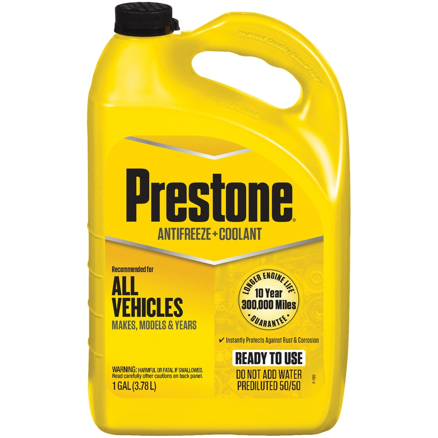 Shop Prestone 50 50 Antifreeze At Lowes Com