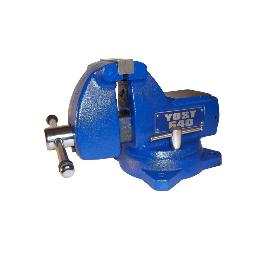 Yost 4-in Cast Iron Combination Pipe & Bench Mechanics Vise