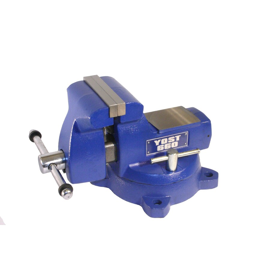 Yost 6-in Cast Iron Combination Pipe & Bench Mechanics Vise