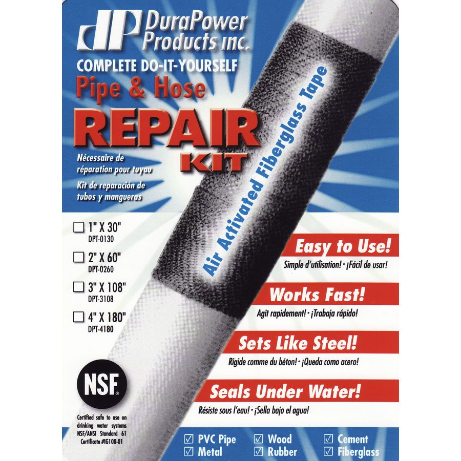 DuraPower 2-in x 5-ft Plumber's Tape