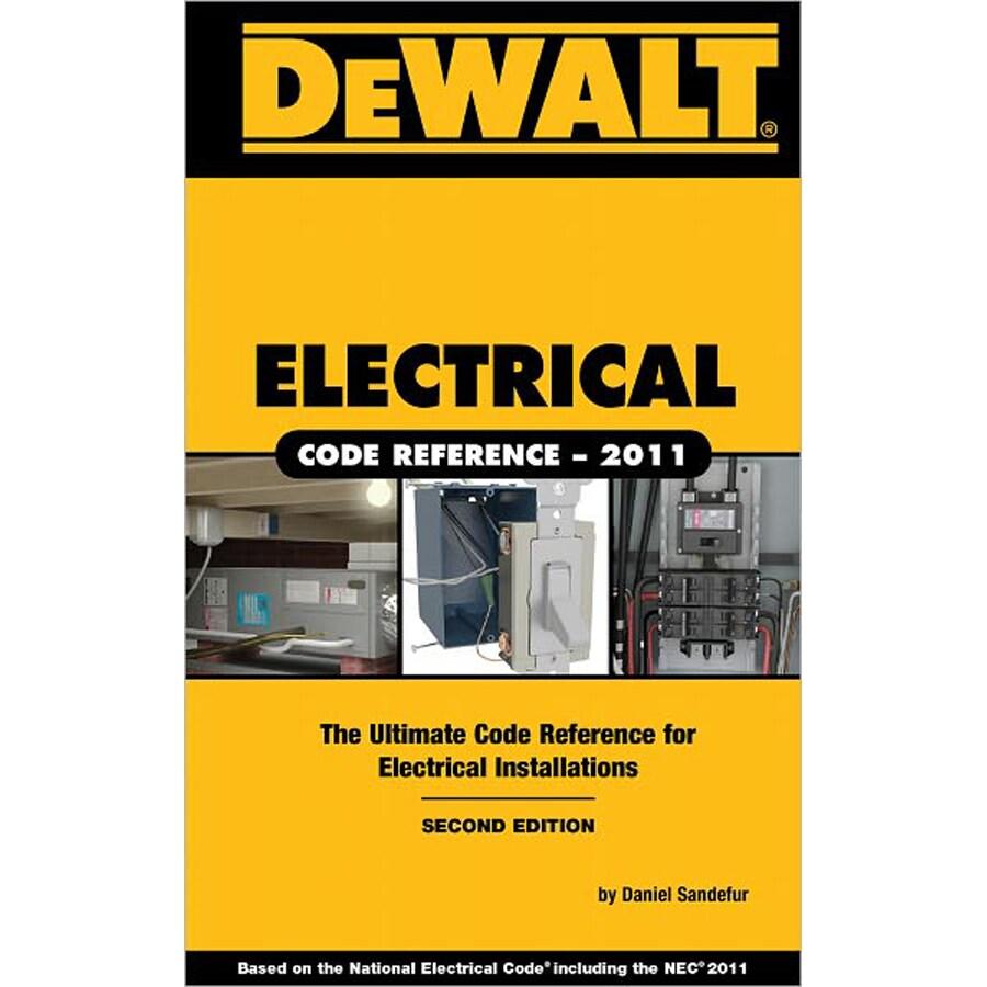 Home Design Alternatives Dewalt Electrical Code Reference