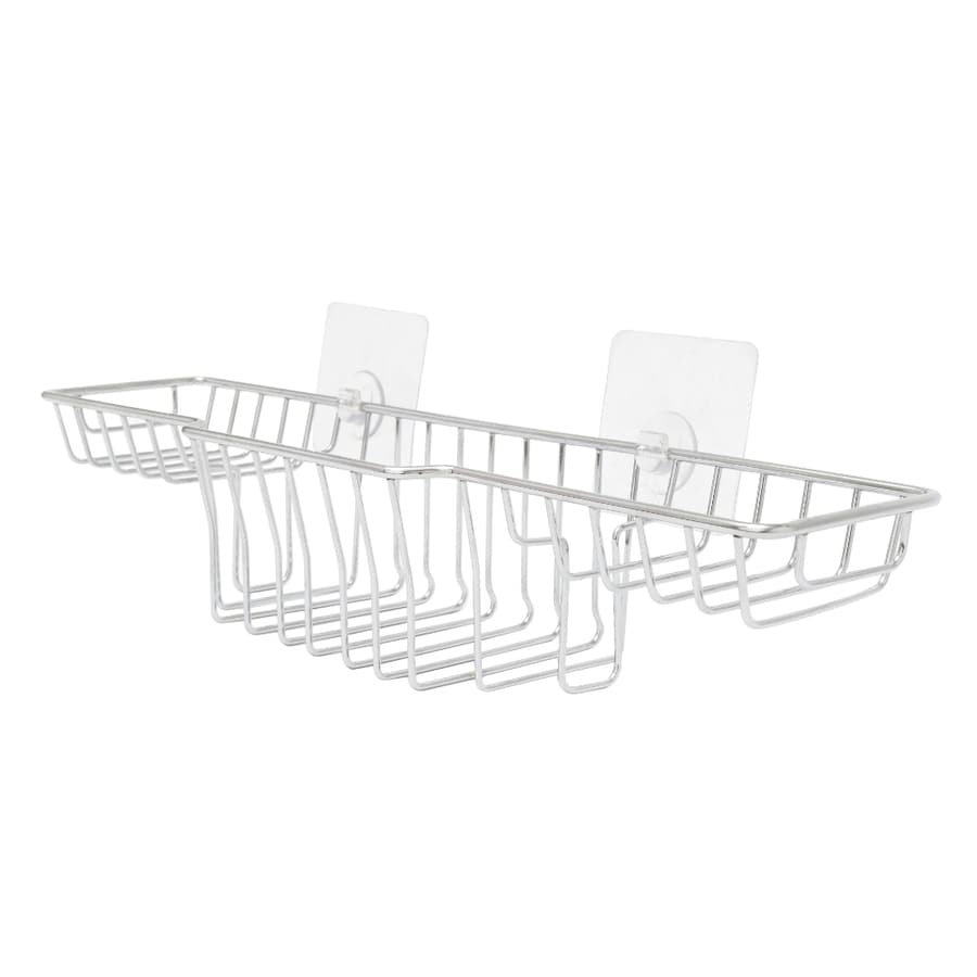 QuickStick High Spec Chrome Plated Steel Bathtub Caddy