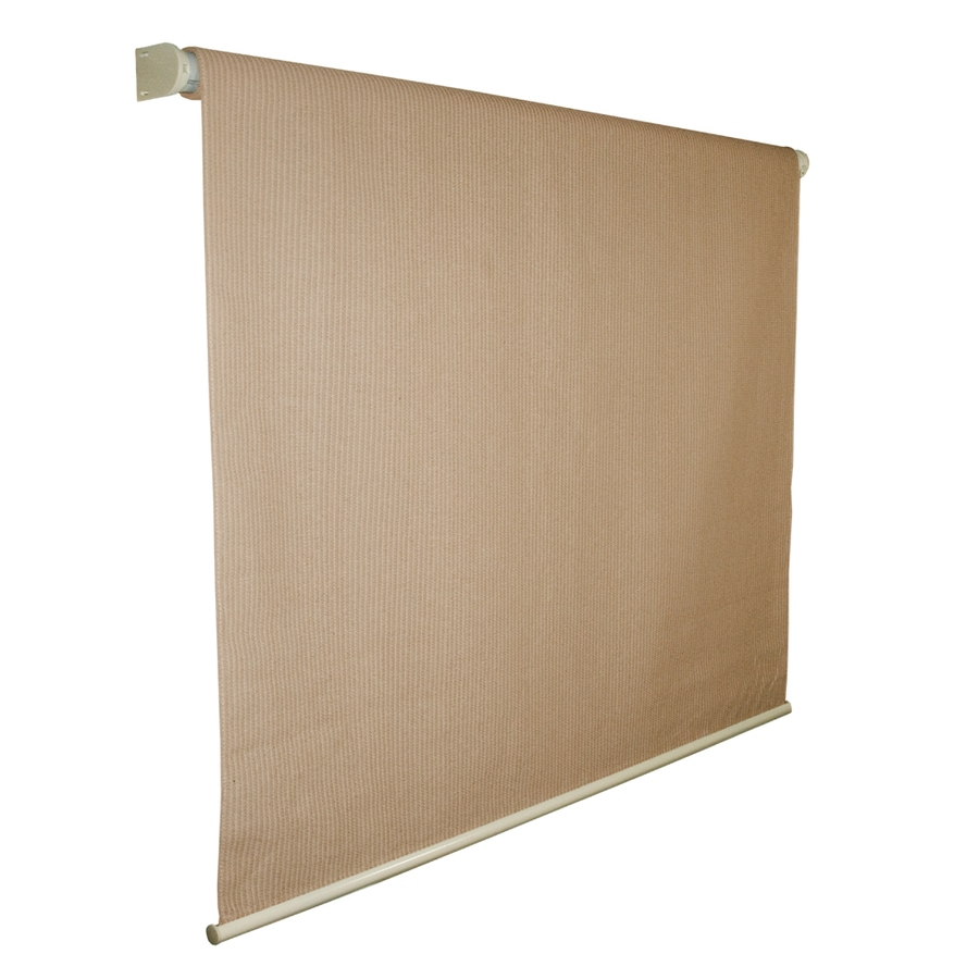 Coolaroo Almond Light Filtering High-Density Polyethylene Exterior Shade (Common 72-in; Actual: 74.75-in x 72-in)