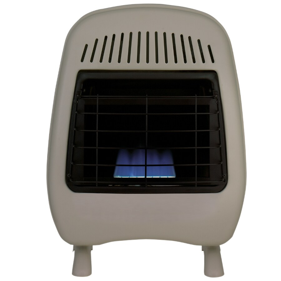 Cedar Ridge Hearth 10,000-BTU Wall or Floor-Mount Natural Gas or Liquid Propane Vent-Free Convection Heater