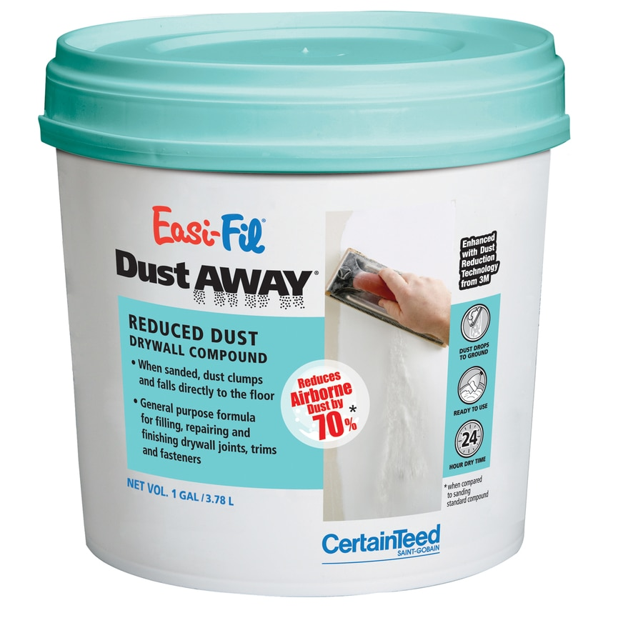 Shop certainteed dustaway drywall joint compound at for Bathroom joint compound
