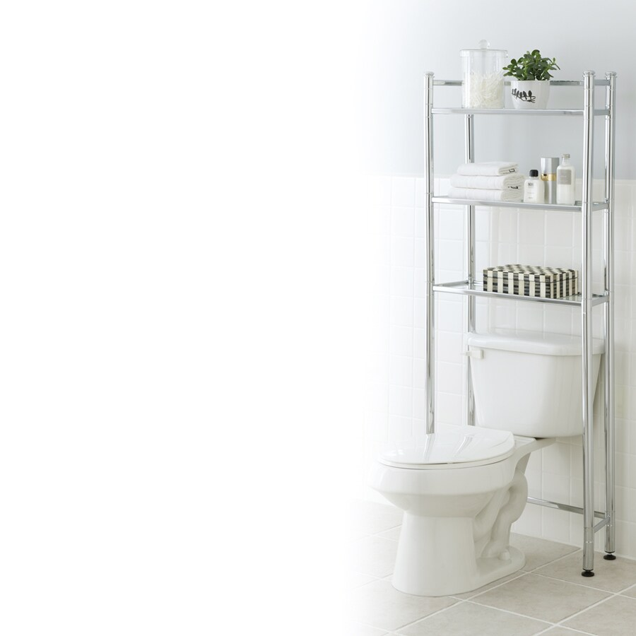 Bathroom etagere pleasant home design for Small bathroom etagere