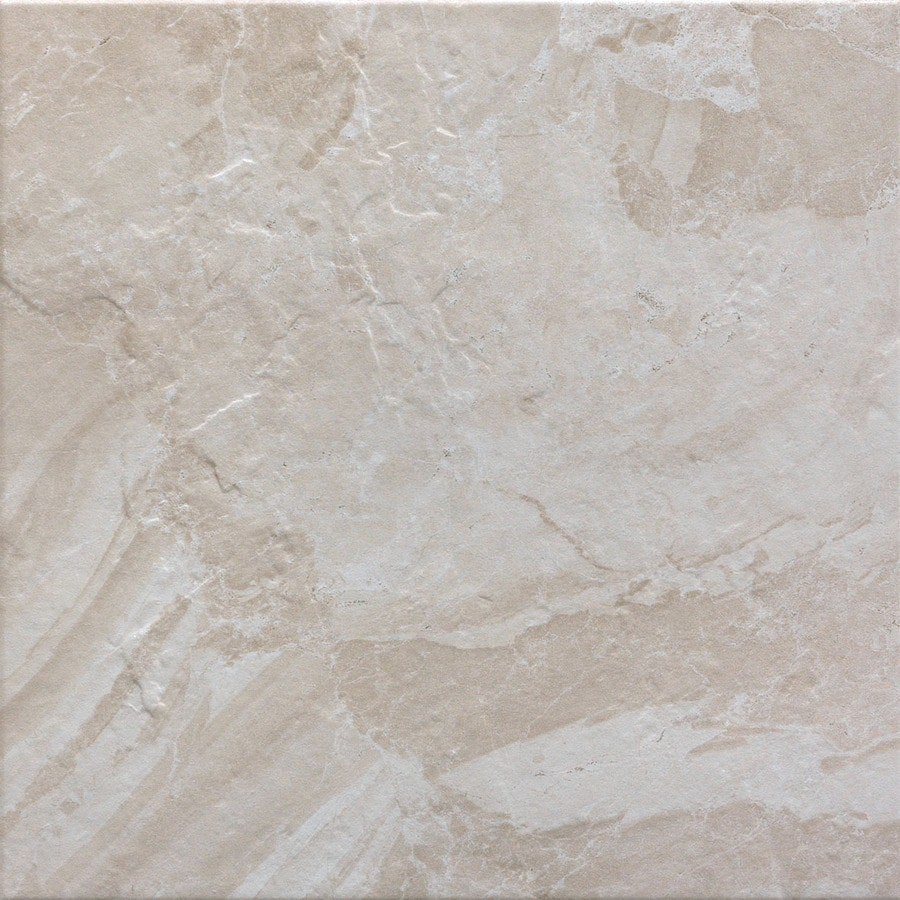 FLOORS 2000 Cortina 11-Pack Ivory Porcelain Floor and Wall Tile (Common: 12-in x 12-in; Actual: 11.87-in x 11.87-in)