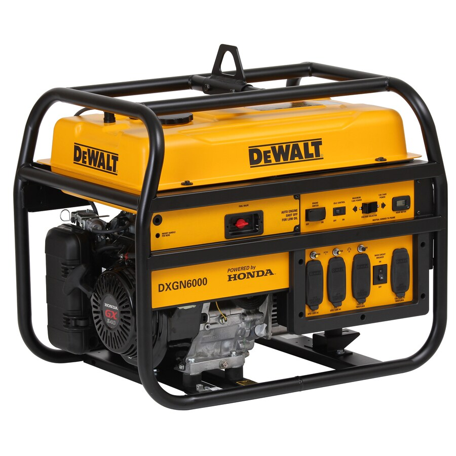 DEWALT 5300-Running Watts Portable Generator