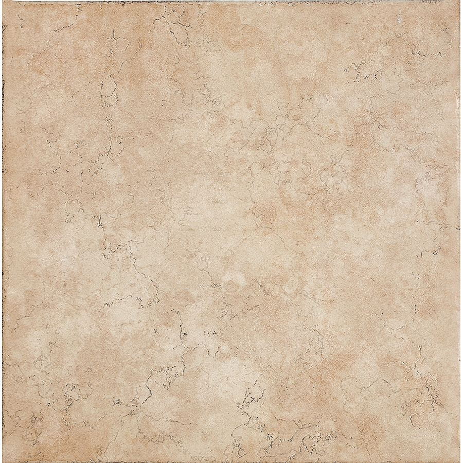 Del Conca 16-in x 16-in Rialto Beige Thru Body Porcelain Floor Tile