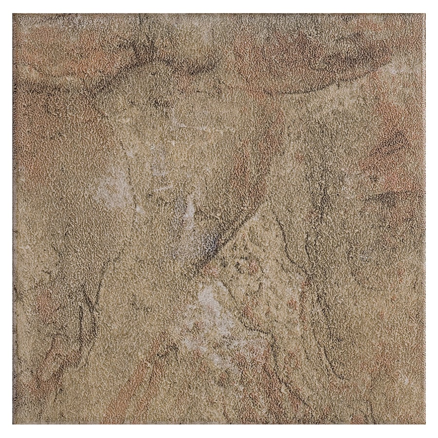 Style Selections 6-in x 6-in Canyon Slate Glazed Porcelain Wall Tile