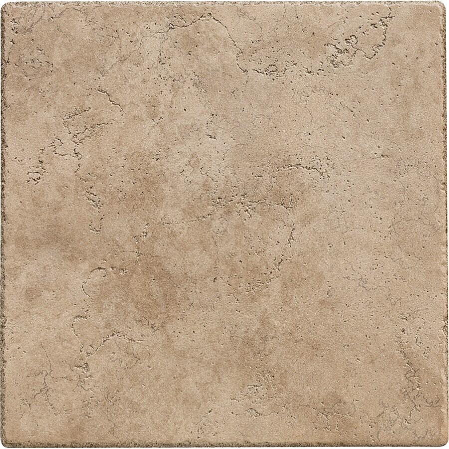 Del Conca 16-in x 16-in Rialto Noce Thru Body Porcelain Floor Tile