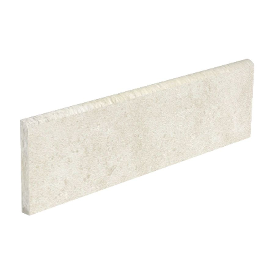 Style Selections Mitte White Porcelain Bullnose Tile (Common: 3-in x 12-in; Actual: 3.15-in x 11.81-in)