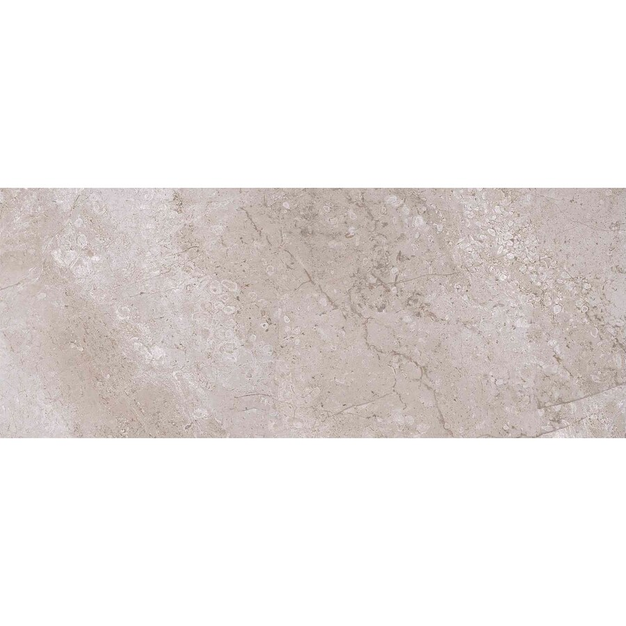 Style Selections Classico Taupe Ceramic Wall Tile (Common: 8-in x 20-in; Actual: 19.68-in x 7.87-in)