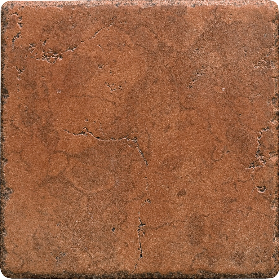 Del Conca Rialto Terra Thru Body Porcelain Floor and Wall Tile (Common: 6-in x 6-in; Actual: 5.8-in x 5.8-in)