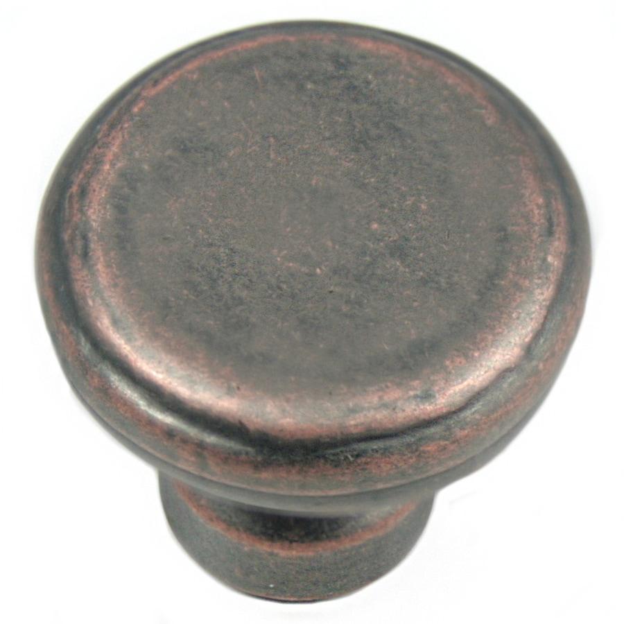 Laurey Distressed Copper Mushroom Cabinet Knob