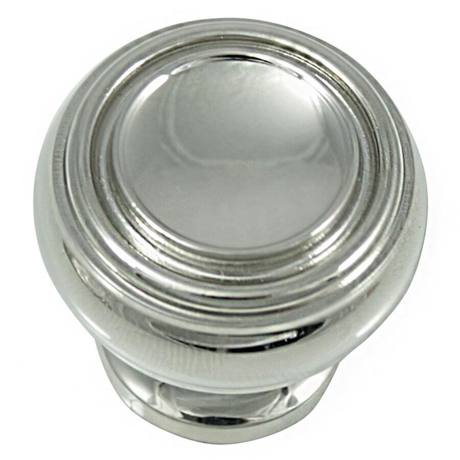Laurey Polished Nickel Round Cabinet Knob