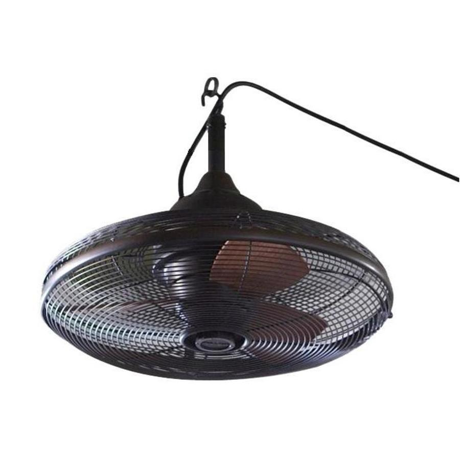 allen + roth Valdosta 20-in Dark Oil Rubbed Bronze Downrod Mount Indoor/Outdoor Ceiling Fan (3-Blade)