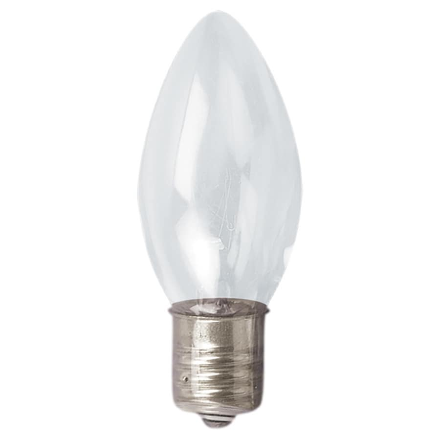 Holiday Living Indoor/Outdoor White Incandescent C9 String Light Bulbs
