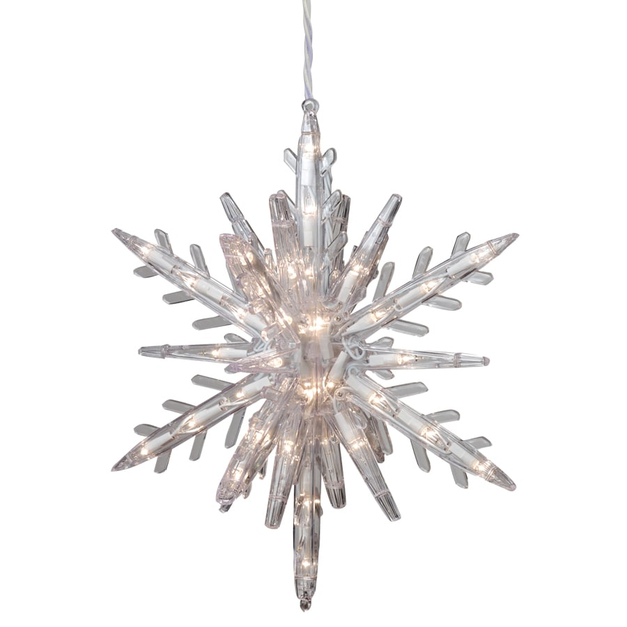 GE Random Sparkle 108-Count Sparkling White Mini Incandescent Plug-in Christmas Icicle Lights