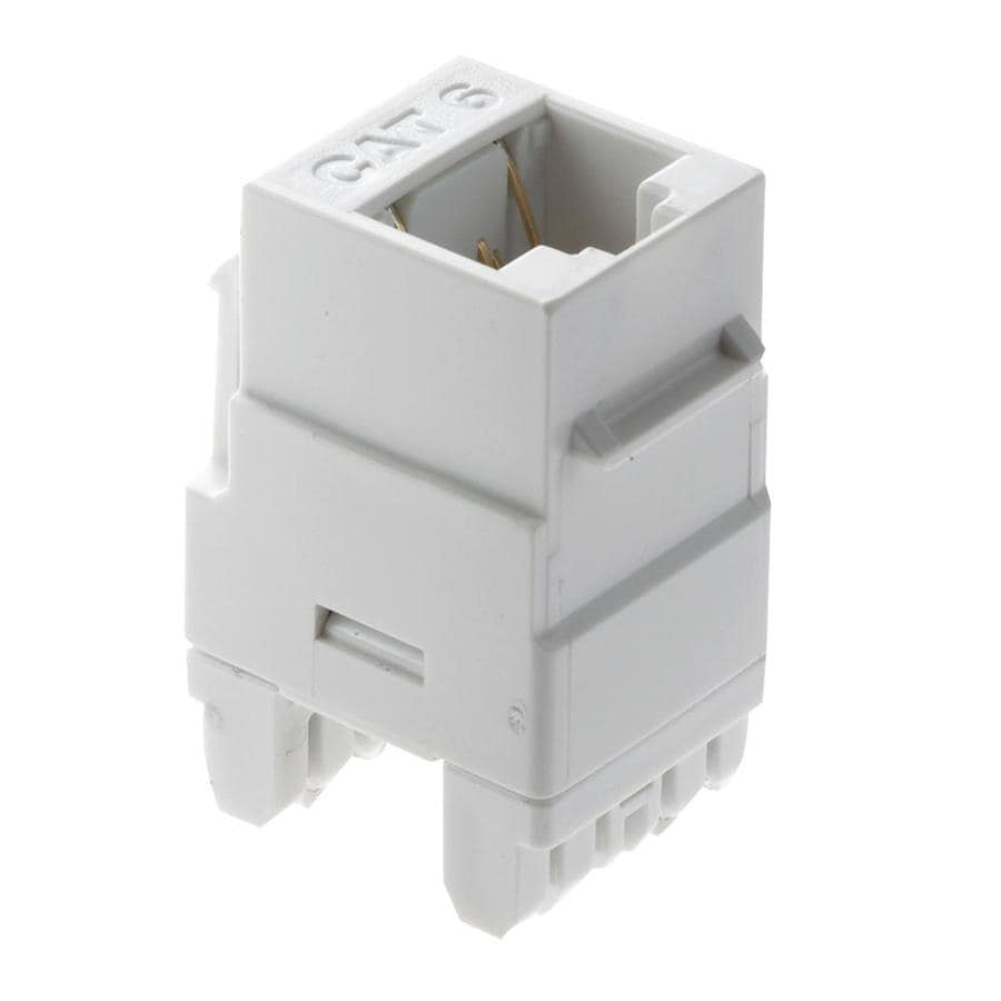 On-Q/Legrand Plastic CAT6 Keystone Insert