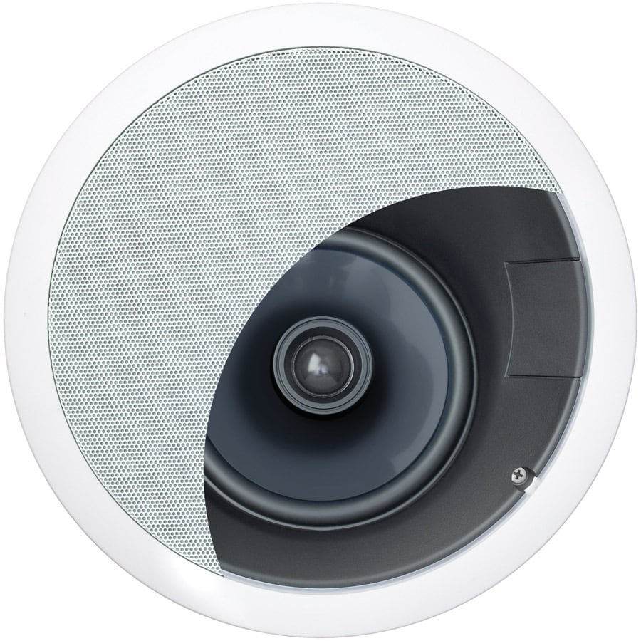 On-Q/Legrand 100-Watt 6-1/2-in Round In-Ceiling Speaker