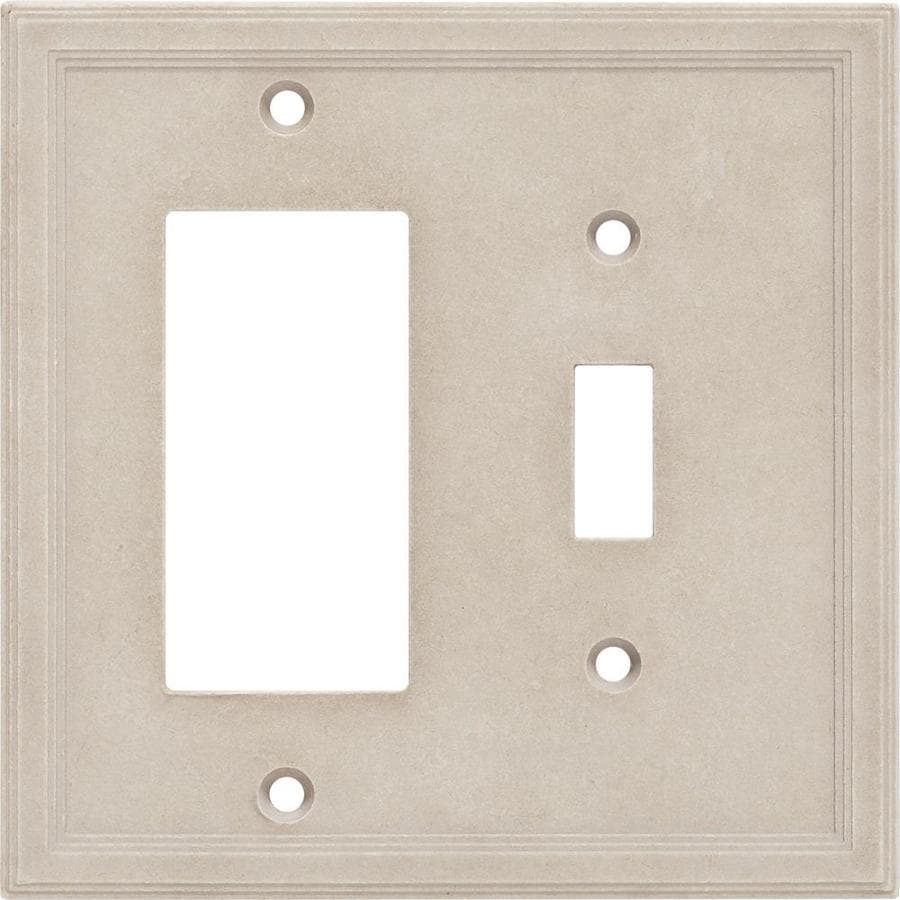 Somerset Collection 2-Gang Sand Wall Plate