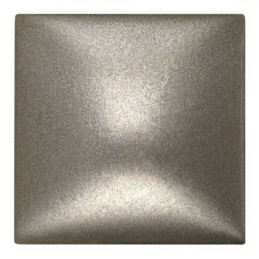 Somerset Collection Bright Nickel Cast Metal Border Tile (Common: 2-in x 2-in; Actual: 1.87-in x 1.87-in)
