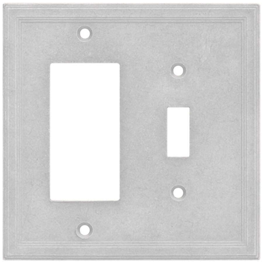 Somerset Collection Somerset 2-Gang Gray Wall Plate