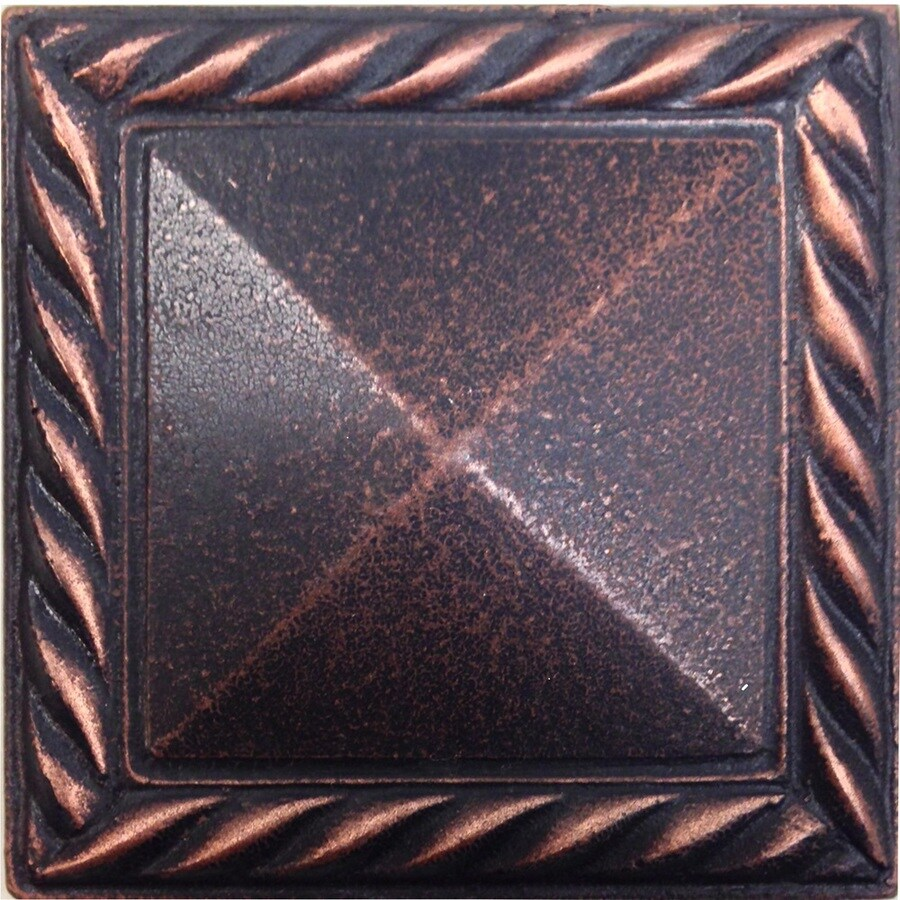 Shop Somerset Collection Pyramid Deco Oil Rubbed Bronze