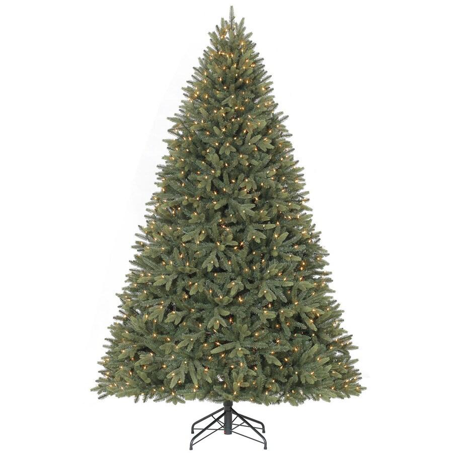 Shop holiday living ft pre lit fir artificial