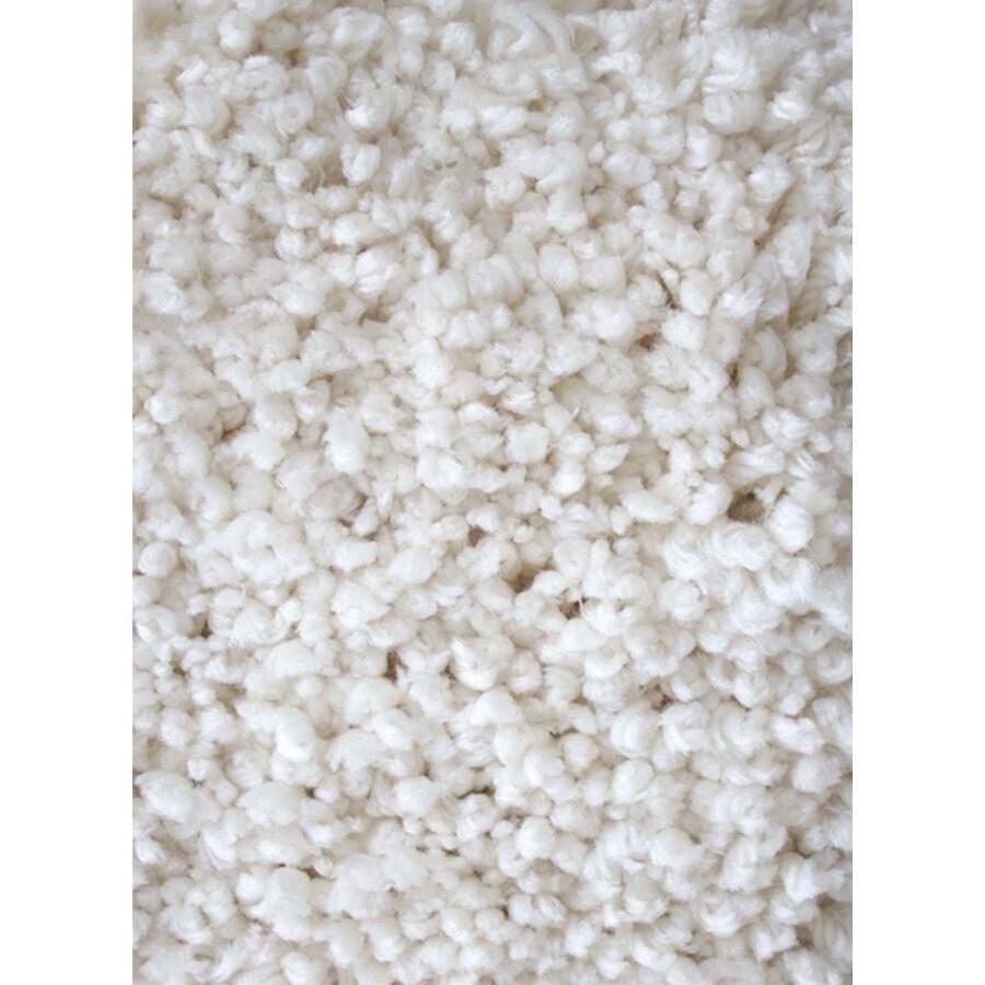 Carpet Art Deco Supreme Natural Rectangular Indoor Shag Area Rug (Common: 5 x 8; Actual: 63-in W x 89-in L x 0.3-ft Dia)