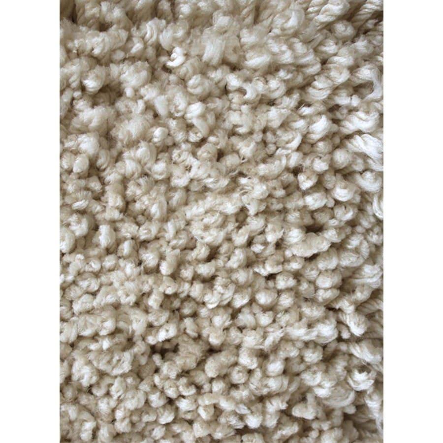 Carpet Art Deco Supreme Taupe Rectangular Indoor Shag Area Rug (Common: 5 x 8; Actual: 63-in W x 89-in L x 0.3-ft Dia)