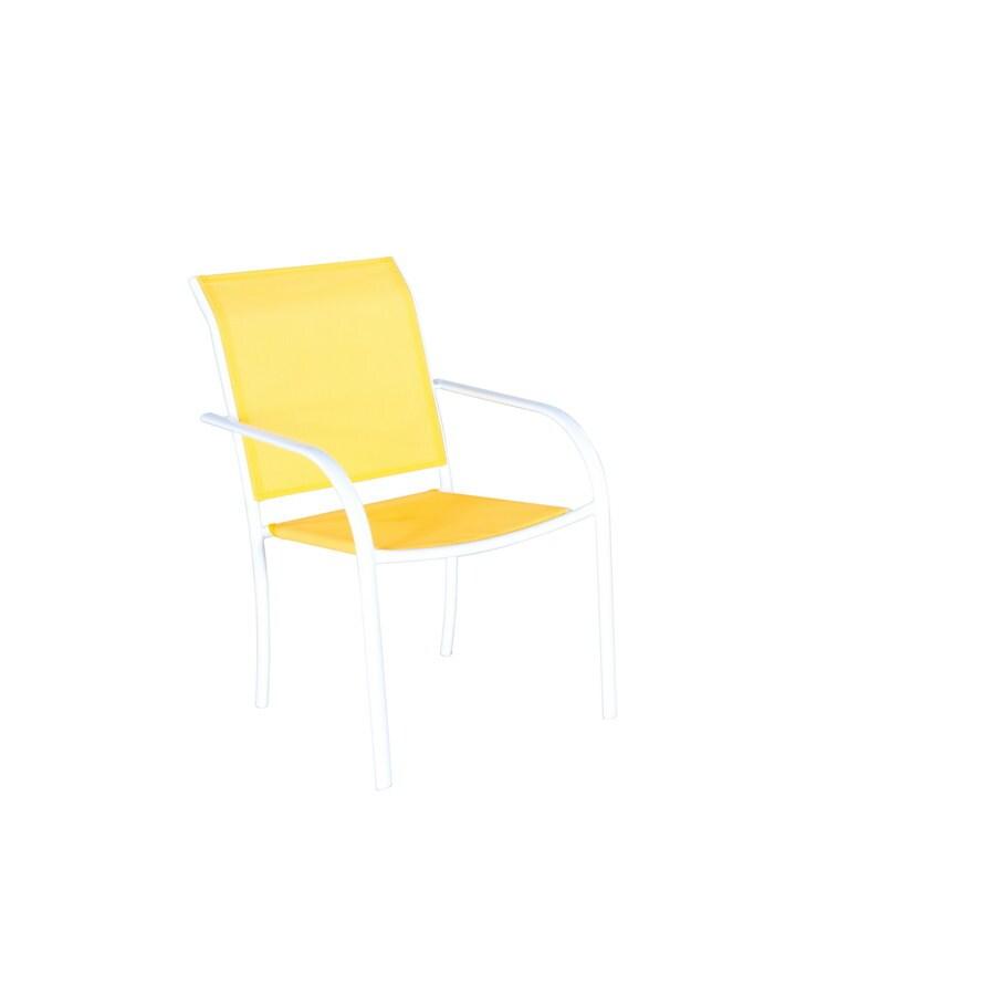 Garden Treasures Steel Patio Dining Chair
