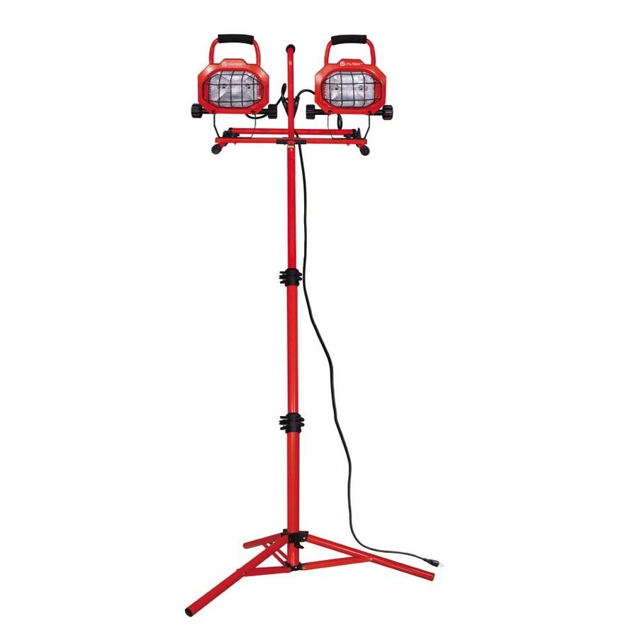 Shop Utilitech 1000-Watt Halogen Stand Work Light At Lowes.com