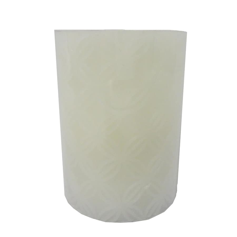 allen + roth 4-in Cordless LED Electric Pillar Candle